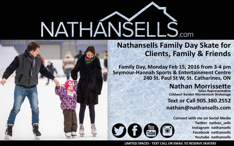 Nathansells 1st Annual Family Day Skate