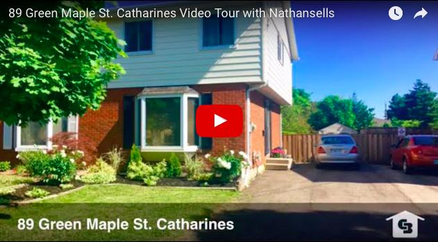 Video Tour- 89 Green Maple St. Catharines
