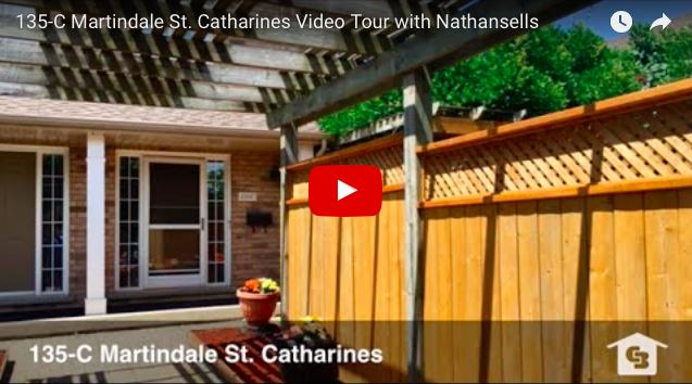 Video Tour- 135-C Martindale St. Catharines