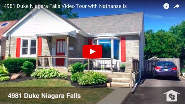 Video Tour- 4981 Duke Niagara Falls