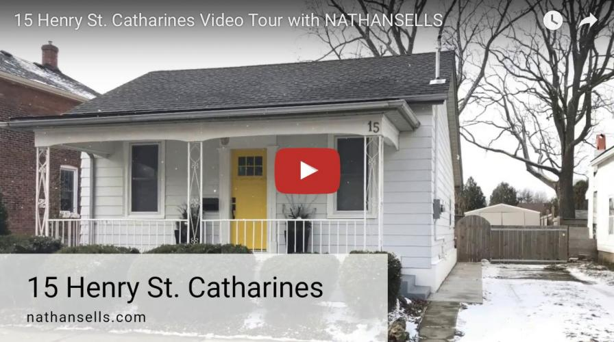 Video Tour- 15 Henry St. Catharines