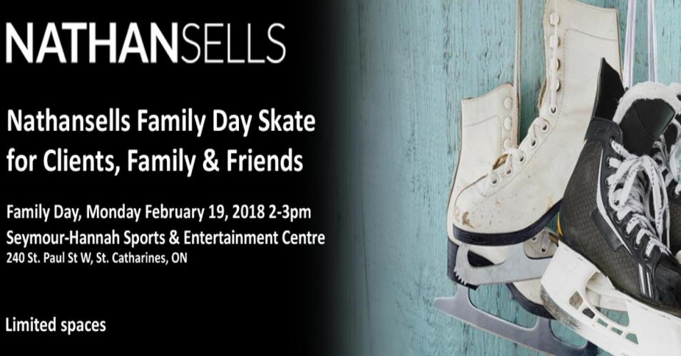 3rd Annual Family Day Skate